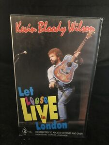 Kevin bloody wilson Let loose live in london VHS