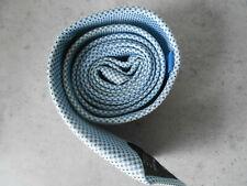 Krawatte - Esprit reine Seide - hellblau mit Punktmuster