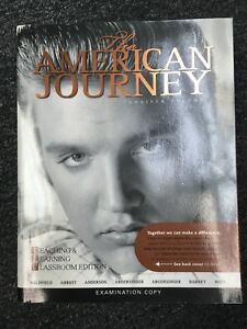The American Journey by Robert M. Weir, Virginia Anderson, Peter Argersinger, Wi