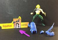 DC Universe Total Justice Aquaman Figure w/ Blasting Hydro Spear 1996 Kenner