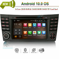 Android 10.0 Head Unit DVD DAB Radio GPS Navi BT WIFI For Mercedes G E CLS Class