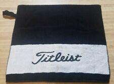 "Titleist Golf Towel Black & White 36"" X 20"""