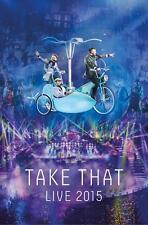 TAKE THAT: TAKE THAT LIVE 2015 DVD
