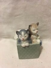 Lladro Nao 1080 Purr-fect Gift Retired Mint Condition! No Box!