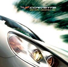 2008 CONVERTIBLE CORVETTE LS3 - DEALER BOOK BROCHURE - Z51 C6 CHEVROLET: NEW SET