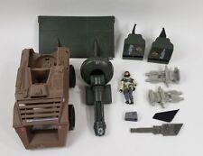 Vintage GI Joe Toy Lot Tank Truck Figure Parts 1980s