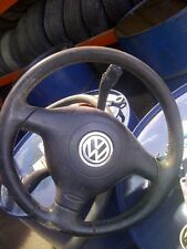 2001 vw passat steering wheel and air bag leather