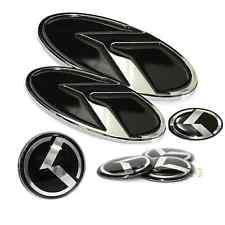 Genuine K LOGO Emblem/Badge 7pc Grille Front/Trunk Rear Badges fit KIA Optima