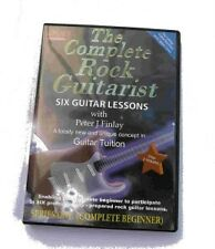 THE COMPLETE ROCK GUITARIST 1 DVD LESSONS electric solo