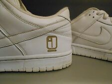 Nike Dunk Laser Sz 11.5 low sample rare white lot promo sb htm OG vintage