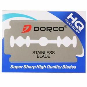 1000 Dorco Double Edge Razor Blades Platinum Plus - FREE Priority Shipping
