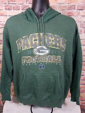 Vintage Green Bay Packers NFL Football Hoodie Hooded Sweatshirt Mens Size Large