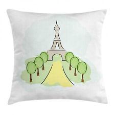 tour Eiffel Housse de Coussin Paysage touristique