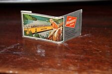 MILWAUKEE ROAD Railroad Vintage Advertising Match Book With Matches 1950s