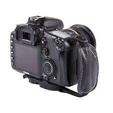 MQ-GS9 Leather Hand Grip Wrist Strap for Universal DSLR Cameras Canon EOS Nikon