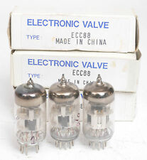 3 X EC88  VALVES  - VALVE AMPLIFIER / TUBE AMP