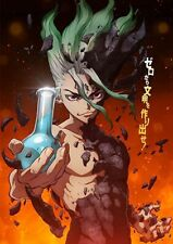 Dr Stone Anime DVD with English Audio *Read*
