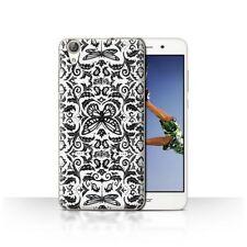 Étuis, housses et coques blancs pour téléphone mobile et assistant personnel (PDA) Huawei à motifs