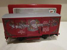 LGB 4335 2 CHRISTMAS MELODY SOUND BOX CAR