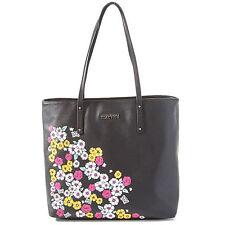 Kenneth Cole Flower Power Tote Bag Black