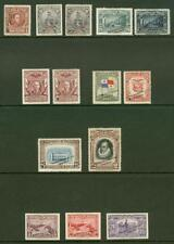 Panama 1926-44 Waterlow color samples (x14)