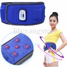 Electric Abdominal Tummy Slimming Belly Burner Lose Weight Fitness Massage Belt