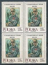 Poland stamps MNH (Mi. 2831) M. Kolbe (4x)