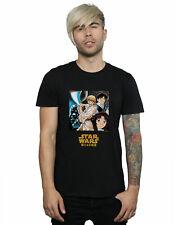 Star Wars Hombre Manga Poster Camiseta
