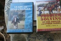 2 sets DVD's Clint Anderson Problem Solving, Horses New sealed & Leads & Lead Ch