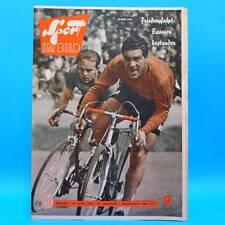 DDR Sport im Bild 9/1960 Buna Friedensfahrt Lenin Hockey Orientierungslauf