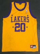Nike Gary Payton Los Angeles Lakers Rewind Throwback Vintage Jersey Size L