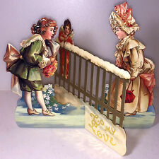 TO MY LOVE 3D Greeting Card STANDS TO DISPLAY Mint/Factory Sealed B.Shackman Co.