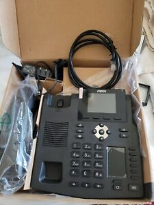 Fanvil Model X4 Office/home Business Black With power Supply, Ethernet Cord