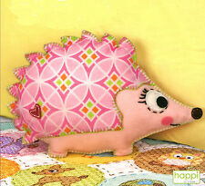 Felt Embroidery Kit Dimensions Happi Hedgehog Stuffed Decor #72-73567 OOP SALE!