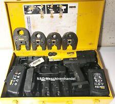 REMS Mini-Press 22 V ACC Akku Pressmaschine Pressbacken 15-35 für Pressfittinge