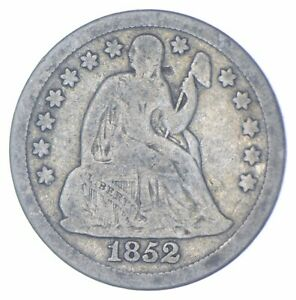 Historic 1852 Seated Liberty Dime *469