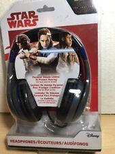Star Wars HeadPhones Disney Kids The Last Jedi Millennium Falcon Adjustable NIB