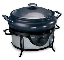 Crock-Pot Saute Traditional Slow Cooker 4.7L SC7500 Chrome & Grey EU Plug