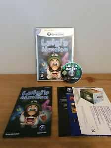 Luigi's Mansion GameCube - PAL Complete With Manual & Inserts