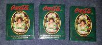 Coca-Cola Super Premium Collection Cards 3 Pack - 1995
