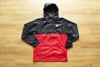 HUF x CHOCOLATE PACKABLE JACKET NEU BLACK-RED GR:M HUF WORLDWIDE