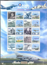 Isle of Man-RAF-Royal Air Force limited printing Aviation mnh sheet-112