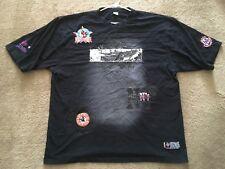 Negro Leagues Baseball Museum T-Shirt Embroidered Team Logos Men's Size 4XL GUC