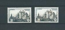 VARIÉTÉ - 1957 YT 1099 et 1099a - sans couleur bistre - COTE MAURY 140,00 €