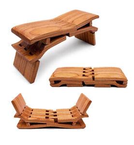 Luban Stool Solid Wood Handmade Portable Chinese Retro Crafts