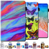 Smart Wake/Sleep Tablet PU Leather Skin Flip Card Slot Case Cover For Amazon