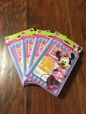 New Lot Of 4 Minnie Mouse Birthday 8 Invitations 8 Thank You Cards 32 Each