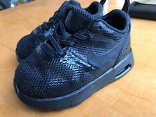 Nike Air Toddler Infant Black Trainers Size 4.5