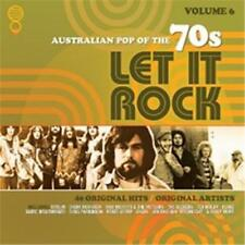 Let It Rock: Australian Pop of the 70s, Vol. 6 by Various Artists (CD, Aug-2017)