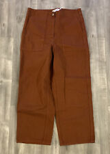 Stockholm Atelier And Other Stories Womens Burnt Orange Pants Size 10